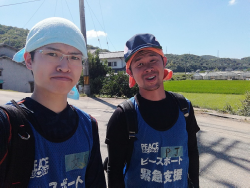 2018年に参加した災害ボランティア